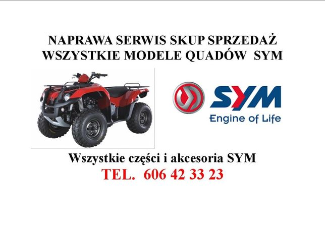 SYM Serwis Quadraider 600 sym 300 itp