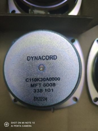 Dynacord Fostex mft 8008 głośnik nowe rarytas