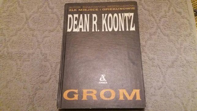 Książka Grom Dean R. Koontz