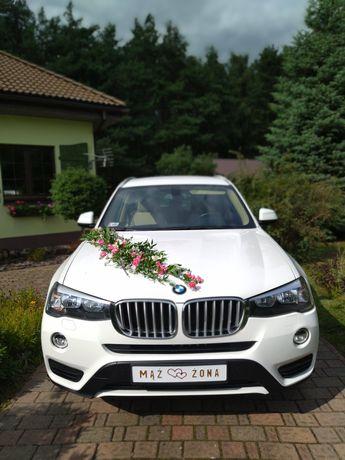 Auto do ślubu BMW X3  TANIO. Ostrów, Kalisz , Grabów ,Kępno , Ostrzesz