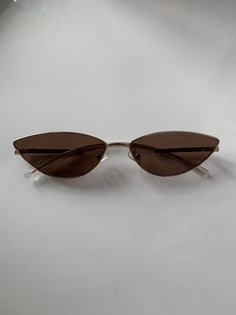 Коричневые солнцезащитные очки