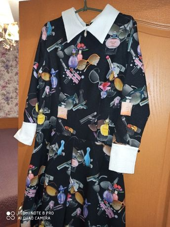 нарядное модное платье