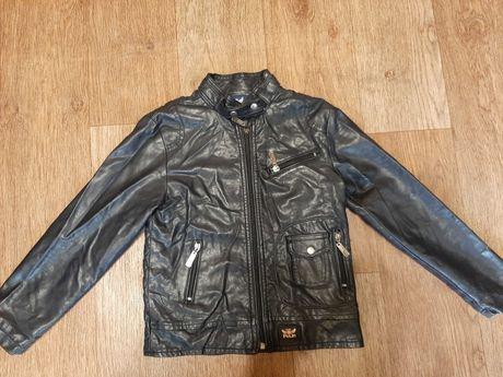 Куртка детская кожзам