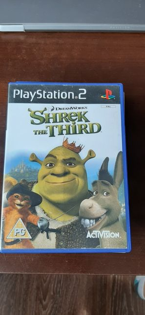 Shrek the third na ps2