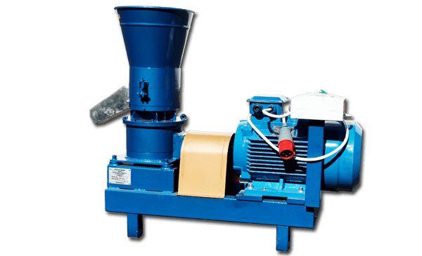 Гранулятор пеллет из опилок, отходов, шелухи 15 кВт, 100-200 кг/ч 380