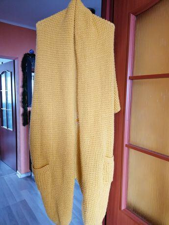 Sweter długi kardigan