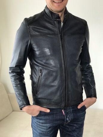 Massimo Dutti кожаная куртка, кожанка, куртка М