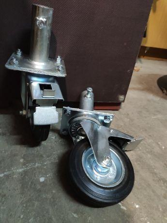 Koło do rusztowania warszawskie kółka z hamulcem 160mm