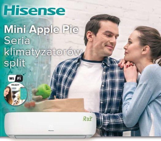 Klimatyzacja Hisense Mini Apple Pie AST12 3.6kW OD RĘKI!