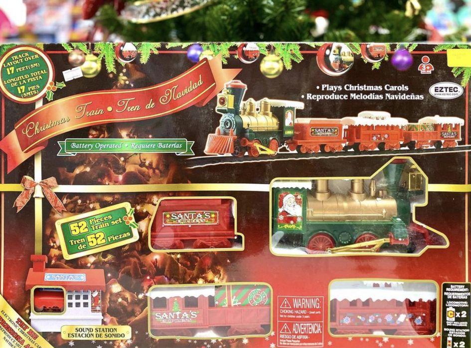 Паровоз Рождественский экспресс Одесса - изображение 1