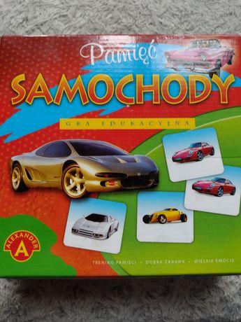 Gra planszowa Memo Samochody - edukacyjna