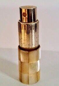 Vintage  Atomizer spray de bolso madre perula a funcionar