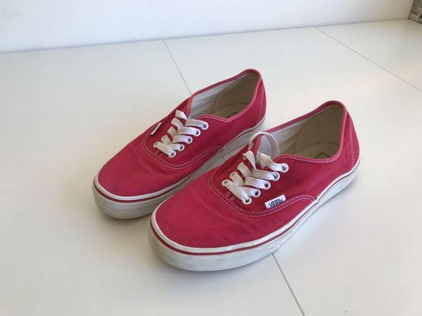 Vans vermelho - como novo