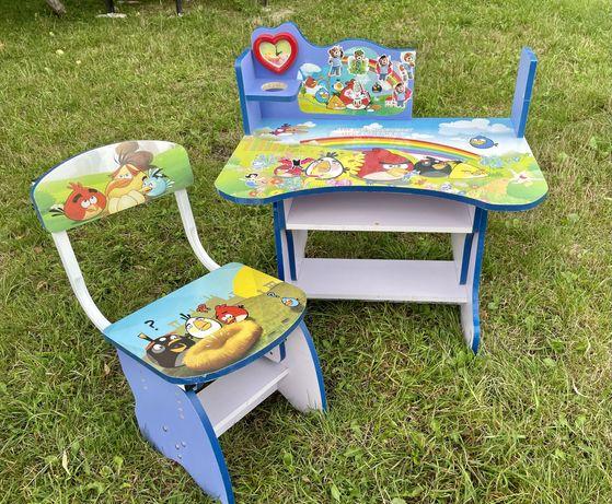 Дитяча парта з кріслом парта со стулом детская