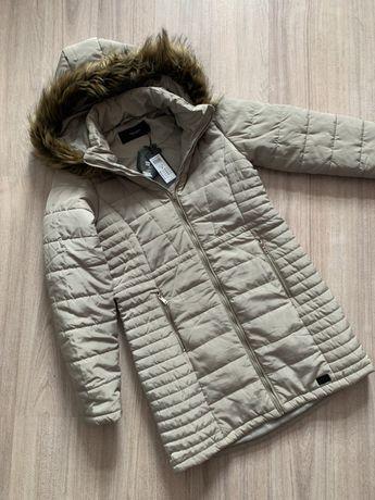 Демисезонное пальто куртка H&M Zara mango серое very moda