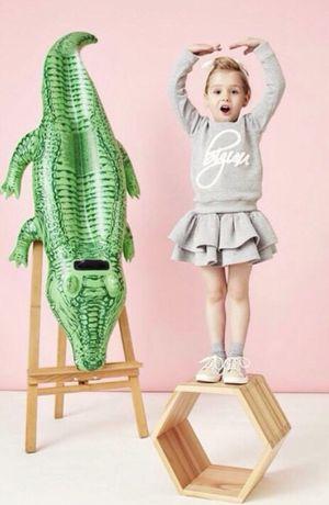 Bizuu dziecięcy komplet spódniczka i bluza