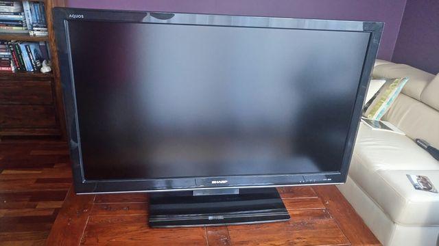 "Telewizor Sharp 46"" LCD Aquos LC-46XL2E +pilot i instrukcja."