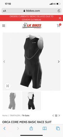 Tri suit orca core race suit