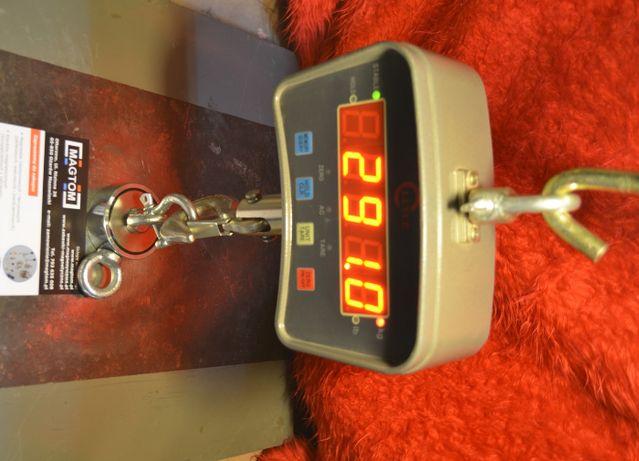 Mocny Magnes Neodymowy 290kg komplet z liną 8mm 25m. i rękawice