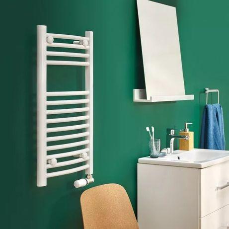 Grzejnik łazienkowy Blyss profilowany 700 x 400 mm biały