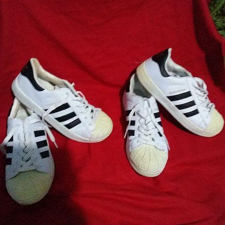 Кроссовки спортивные подростковые Adidas Superstar-39/40-