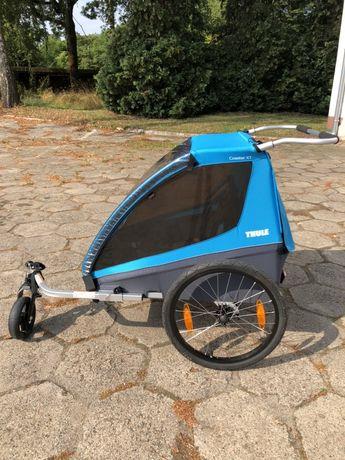 Przyczepka rowerowa thule coaster xt,wozek biegowy jak  nowa - wysyłka
