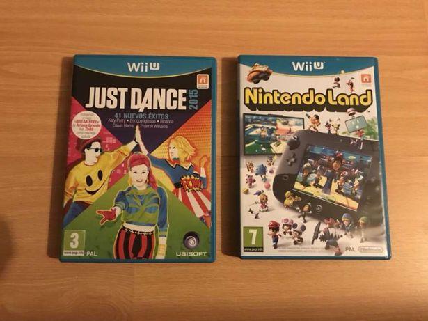 2 x Jogos Nintendo Wii U