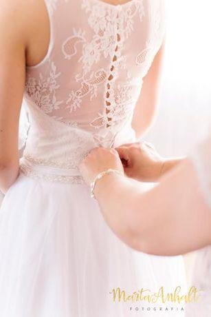 """Sprzedam suknię ślubna """"Rebeka""""rozmiara 36/38"""