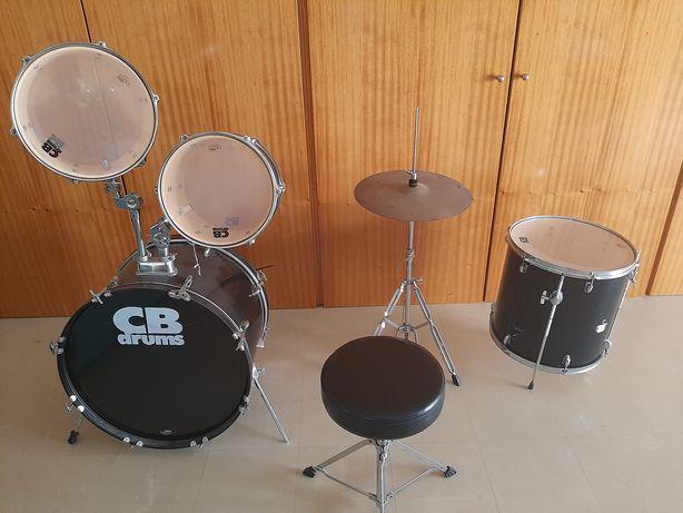 Conjunto de bateria cb drums