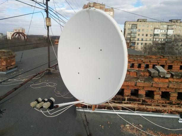 Продам рабочую спутниковую антенну в Полтаве.