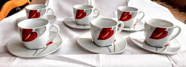 Serwis do kawy i herbaty Anturium