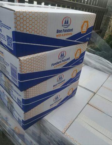 Ciasto dla pszczół z probiotykiem Diamant 5 Kg
