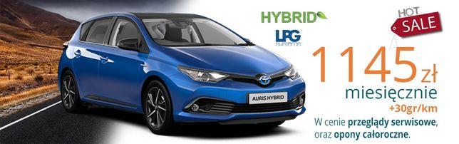 Wypożyczalania samochodów tanio, BUS, Toyota, Mondeo HybrydaLPG, AUDI