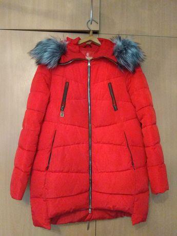 Куртка , курточка женская зимняя б/у р.48