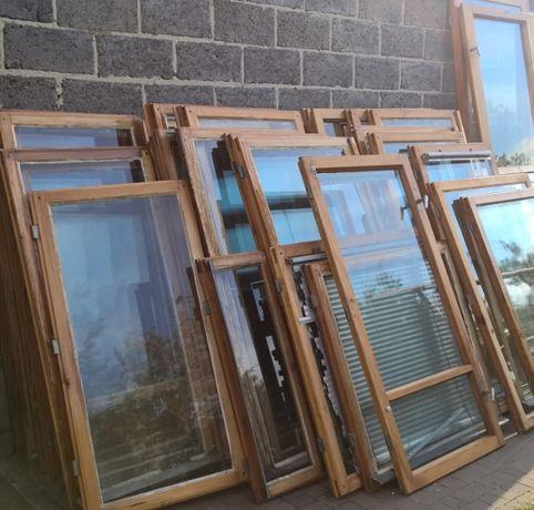Drewniane skrzydła / ramy okienne