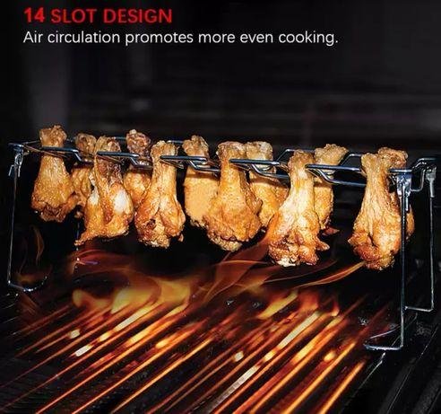 Подставка для запекания куриных окорочков на гриле Weber барбекю BBQ