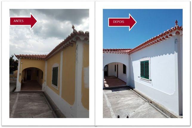 Serviço de construção, reconstrução e pintura