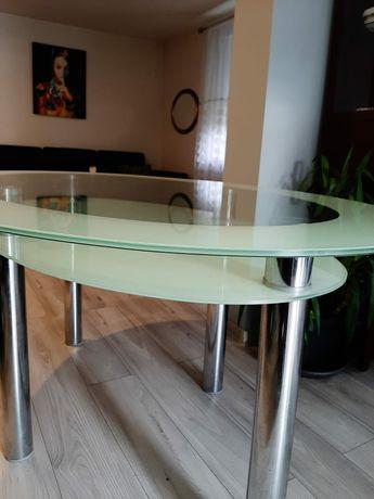 Stół szklany 160x80