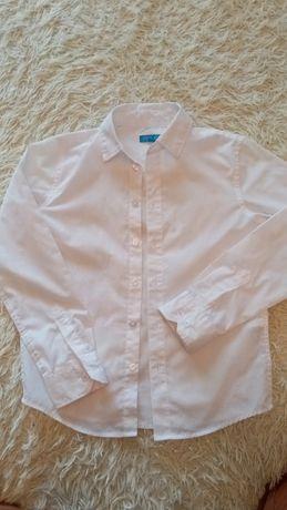 Рубашка белая, рубашка для школы