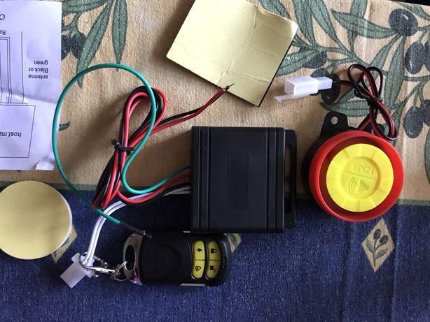 Сигнализация для мотоцикла, скутера, мопеда сигналізація мото 12В
