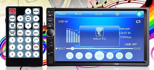 Магнитола Pioneer 7018B, Поддерживает все форматы! Хорошее качество!