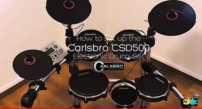 Bateria Eléctrica Carlsbro CSD500 como nova