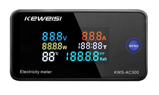 KWS-AC300 100A watomierz licznik energii AC 50-300V
