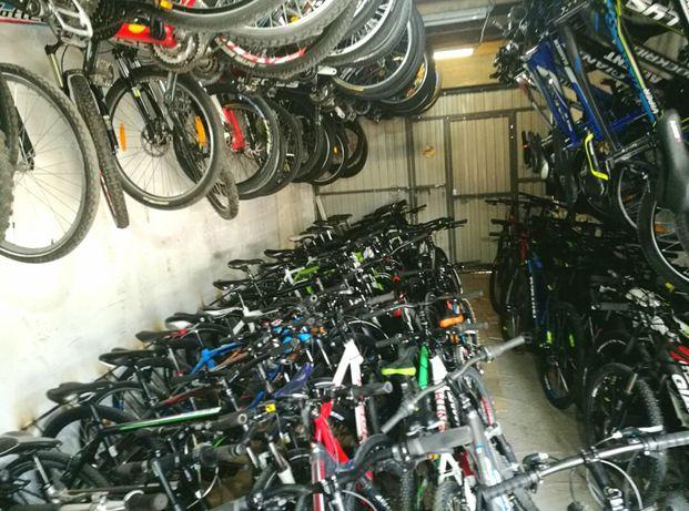 Очень много велосипедов с Германии. Cube.Scott.Specialized.Cannondale