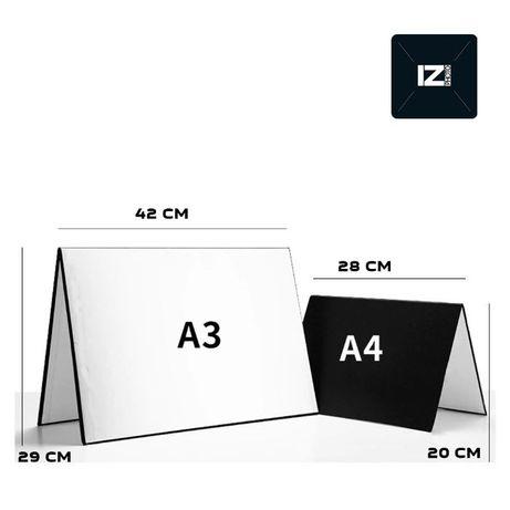 Отражатель рефлектор А3, А4 предметная съемка