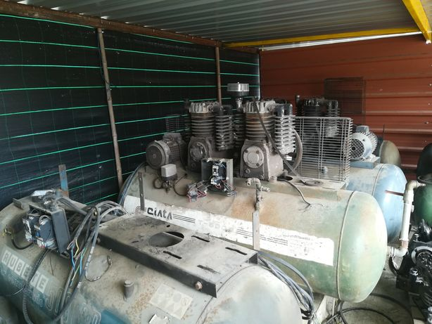 Reparação de compressores de pistão