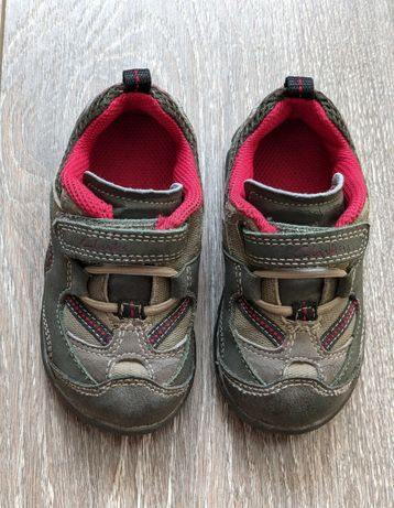 Кожаные кроссовки (полуботинки), 13 см, Clarks