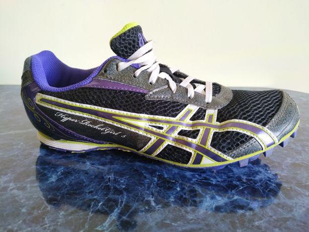 Легкоатлетические шыповки Asics 38 беговые кроссовки шипы спринты nike
