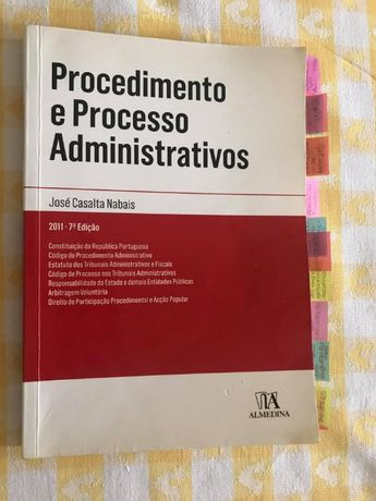 Livro Procedimento e Processo Administrativos - José Casalta Nabais