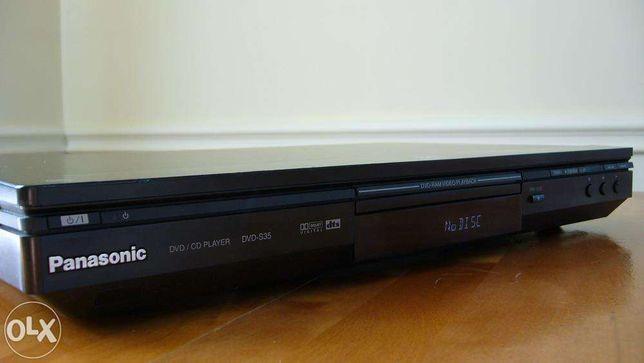 Odtwarzacz DVD Panasonic DVD-S35